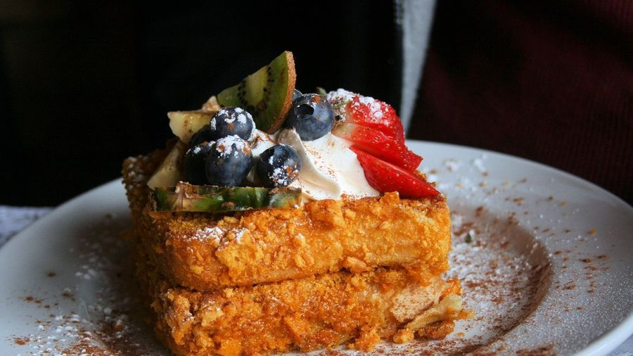Blue Moon Cafe Cap'n Crunch French Toast