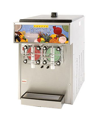 Double frozen drink dispenser