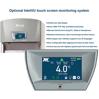Migali Scientific Optional IntevlVu Touch Screen